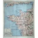 Carte Vidal Lablache 20 - AMERIQUE DU SUD - POLITIQUE
