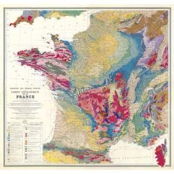 Carte Vidal Lablache 13 - EUROPE POLITIQUE (reproduction ancienne carte scolaire)